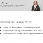 Themenspecial Digitale Werte hier heraunterladen