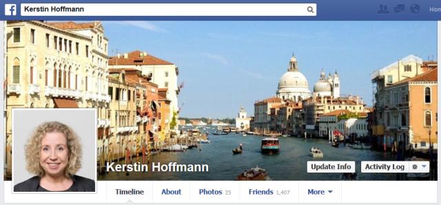 Profil Kerstin Hoffmann Facebook