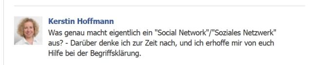 Was ist eigentlich ein soziales Netzwerk?