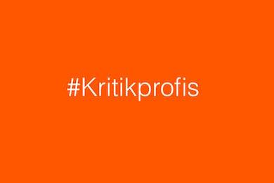 Hashtag #Kritikprofis