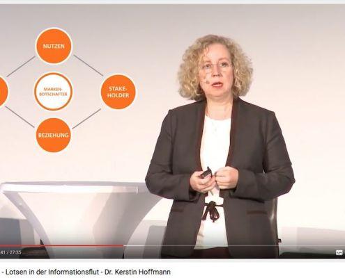 Dr. Kerstin Hoffmann im Vortrag auf YouTube