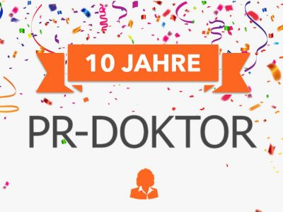 PR-Doktor wird 10 Jahre alt