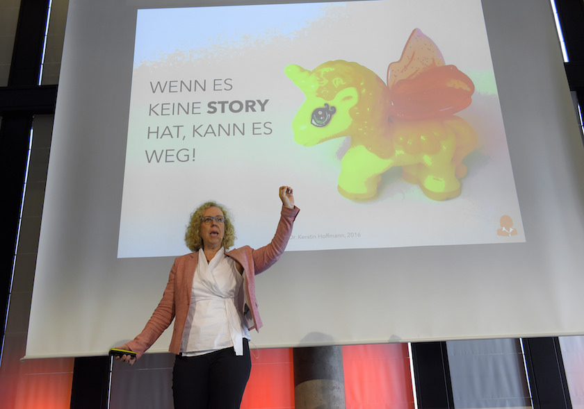 Vortrag Kerstin Hoffmann Story