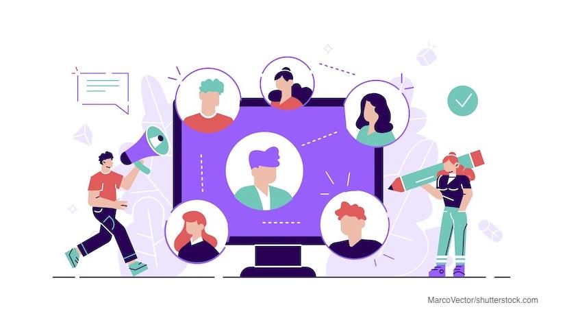 Mitarbeitende in der Contentstrategie
