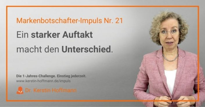 Markenbotschafter-Impuls Nr. 21