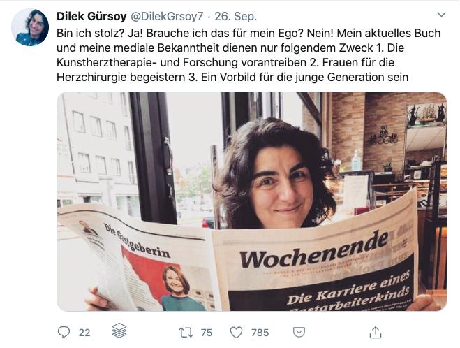 Dilek Gürsoy auf Twitter