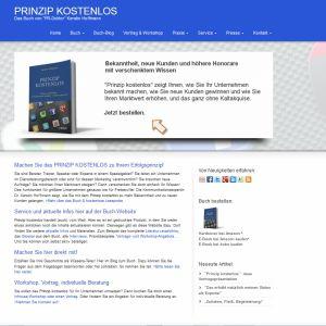 """Prinzip kostenlos. Das Buch von """"PR-Doktor"""" Kerstin Hoffmann"""