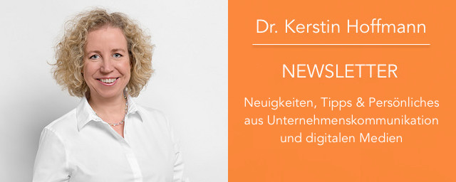 Kerstins Newsletter