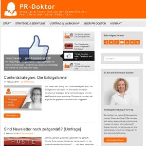 PR-Doktor. Aktuelles & Fachwissen aus PR und Social Web